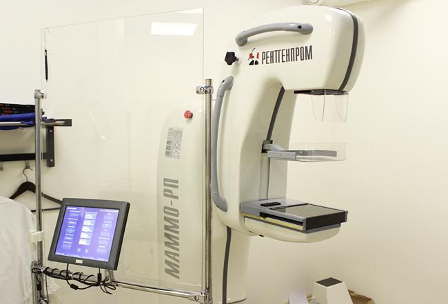Маммограф «МАММО-РП» предназначен для скрининговых и диагностических исследований.